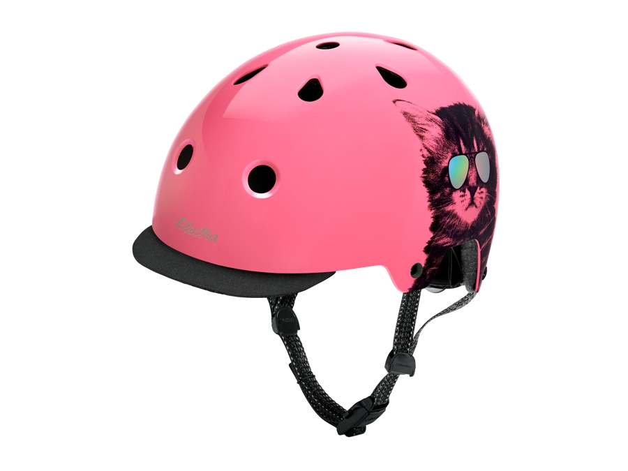Electra Helmet Lifestyle Lux Cool Cat Medium Pink CE