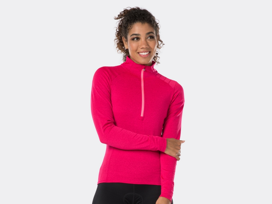 Bontrager Trikot Vella Thermal Long Sleeve XL Vice Pink