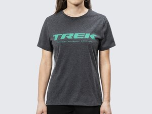 Shirt Trek Logo Tee Women's XL Charcoal Heather