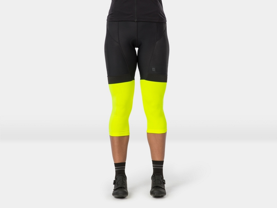 Bontrager Warmer Thermal Knee X-Small Radioactive Yellow