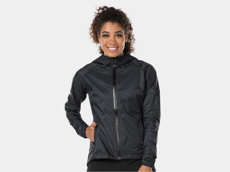 Bontrager Jacket Avert Bike Rain Women Small Black