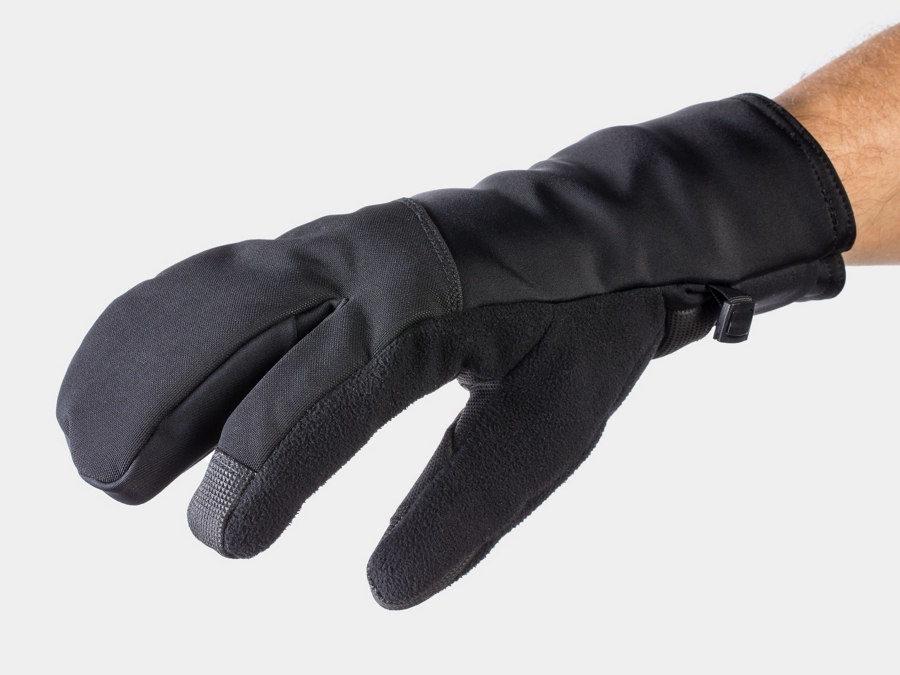 Bontrager Glove Velocis Split Finger Softshell Small Black
