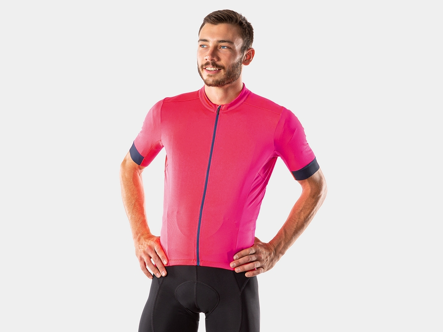 Bontrager Jersey Velocis Large Radioactive Pink