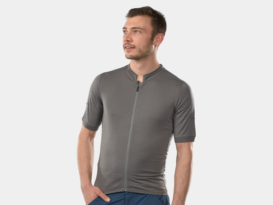 Bontrager Jersey Adventure Wool Medium Pewter